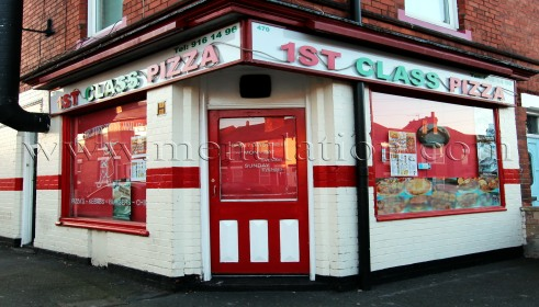 Photo of 1st Class Pizza takeaway in Old Basford, Nottingham
