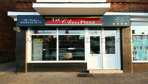 Photo of 1st Class Pizza; pizza, kebabs and fast food takeaway in Mansfield