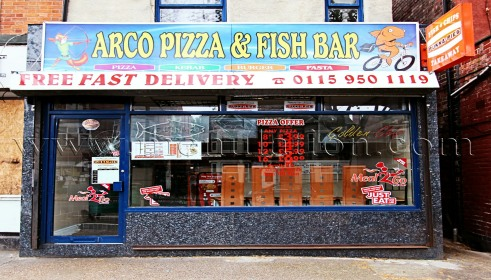 Photo of Arco Pizza; pizza, fast food and fish & chips takeaway in Lenton, Nottingham