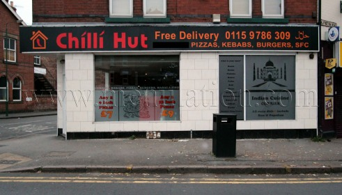 Photo of Chilli Hut pizza, kebab and fast food takeaway and delivery in Bobbersmill, Nottingham