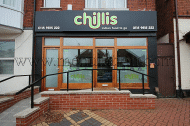 Chillis Indian food takeaway and delivery in Lady Bay near Nottingham NG2 5BL