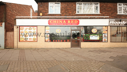 Photo of China Red Chinese takeaway in Aspley, Nottingham NG8 5BU