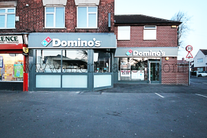 Domino's; pizza takeaway in Bulwell near Nottingham