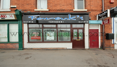 Photo of Farouk's Tandoori takeaway and delivery in Loughborough