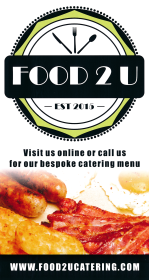 Takeaway and delivery menu for Food 2U on Granby Street in Ilkeston DE7 8HP