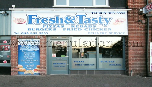 Photo of Fresh & Tasty pizza, kebab and fast food takeaway in Calverton near Nottingham