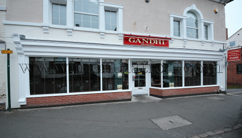 Photo of Gandhi Indian restaurant and takeaway in Castle Donington