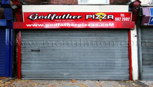 Photo of Godfather Pizza; pizzas and fast food takeaway in Carrington, Nottingham