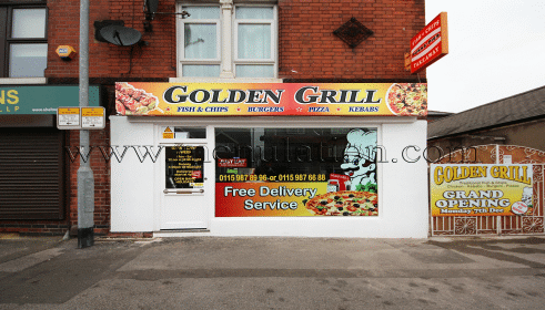 Photo of Golden Grill IV pizza and fast food takeaway and delivery in Carlton, Nottingam