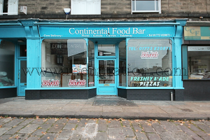 Continental Food Bar curry, pizza and fast food takeaway in Belper