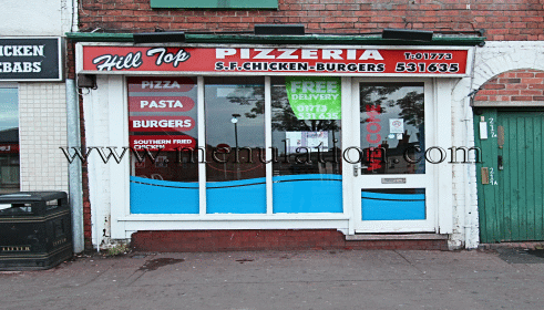 Photo of Hilltop Pizzeria; pizzas, Mexican dishes, pasta, fast food takeaway and delivery in Eastwood