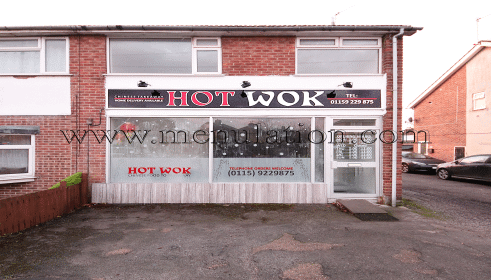 Photo of Hot Wok Chinese food takeaway on Meadow Road in Beeston (Rylands) near Nottingham