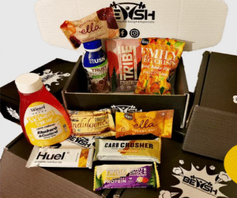 Vegan Protein Snack Box Subscription by Bewsh