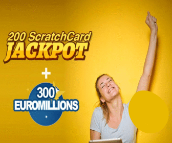 EuroMilliions and Scratchcard syndicate offer from Cheeky Lottos.