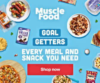 Muscle Food, lunches, dinners, breakfasts, snacks, meat boxes.