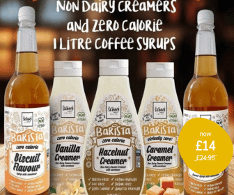Non Dairy Creamers and Zero Calorie Coffee Syrups.