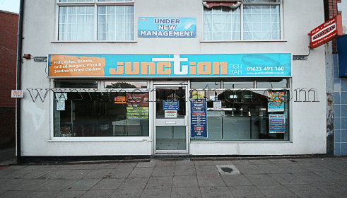 Photo of the Junction Fish Bar Fish and Chips plus fast food takeaway in Rainworth, Mansfield