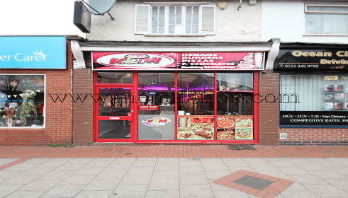 Photo of K&M's pizza, kebab and fast food takeaway in Stapleford near Nottingham