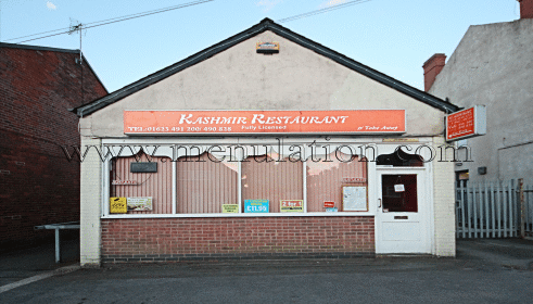 Photo of Kashmir Indian restaurant and takeaway in Rainworth near Mansfield