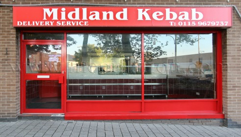 Photo of Midland Kebab; pizzas, kebabs and fast food takeaway in Arnold near Nottingham