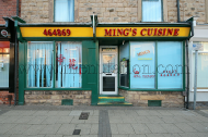 Ming's Cuisine Chinese and Cantonese food takeaway on Newgate Lane in Mansfield