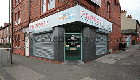 Photo of Pappas fish & chips, pizzas plus fast food takeaway in Nottingham