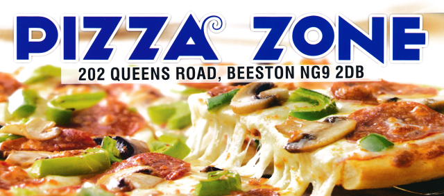 Takeaway and delivery menu for Pizza Zone