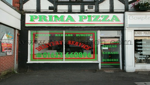 Photo of Prima Pizza; pizza, kebab and fast food takeaway in Mansfield