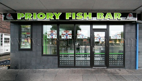 Photo of Priory Fish Bar; fish & chips plus fast food takeaway in Beeston, Nottingham