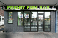 Photo of Priory Fish Bar takeaway in Beeston near Nottingham
