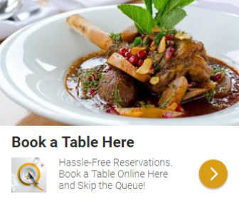 Book a restaurant table online and earn points with Quandoo