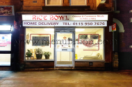 Rice Bowl Chinese takeaway in Nottingham