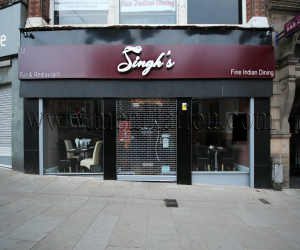 Meal offers at Singh's Indian restaurant in Nottingham