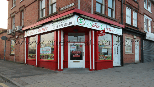 Photo of Spice Corner pizza takeaway in New Basford, Nottingham