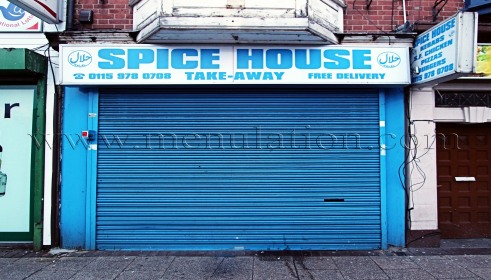 Photo of Spice House Indian takeaway in Hyson Green, Nottingham