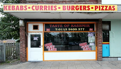 Photo of Taste Of Kashmir; curries, pizzas and fast food takeaway and delivery in Netherfield near Nottingham