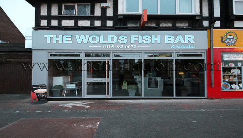 Photo of The Wolds Fish Bar; fish and chips plus fast food takeaway in West Bridgford near Nottingham