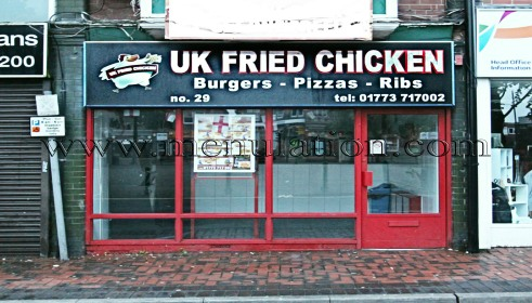 Photo of UK Fried Chicken fast food takeaway in Heanor