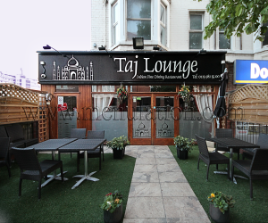 Taj Lounge Indian restaurant and takeaway in West Bridgford near Nottingham