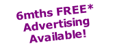 6mths FREE* Advertising Available!